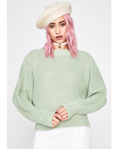 Dank Practical Punk Knit Sweater
