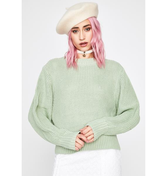Dank Practical Punk Knit Sweater