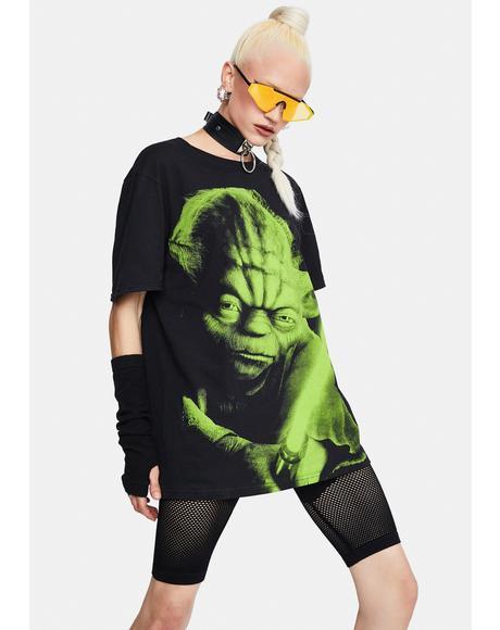 Yoda Big Print Tee