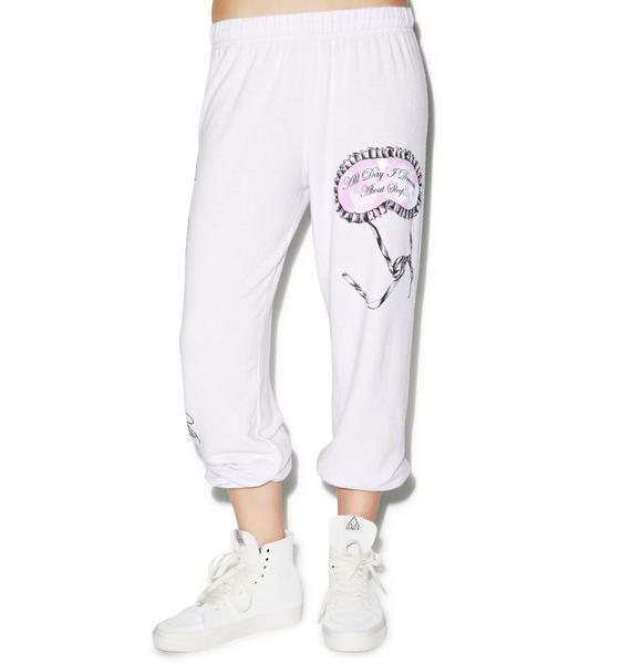 Lauren Moshi Tanzy Sleep Mask Sweat Pants