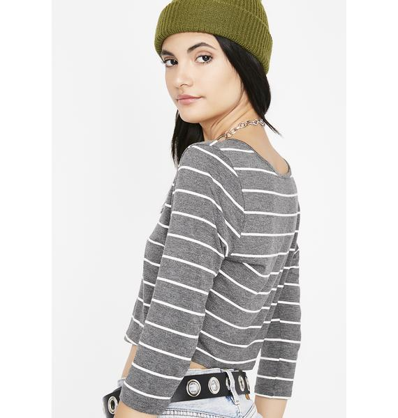 Don't Be Lame Stripe Top
