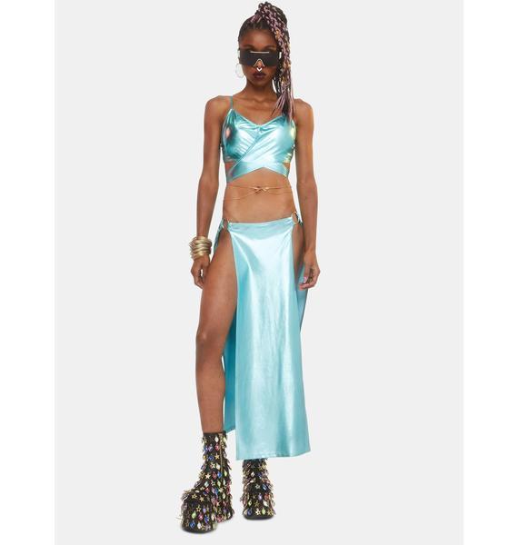 Club Exx Journey To Atlantis Maxi Skirt