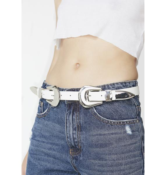 Got Ya Wild Double Buckle Belt