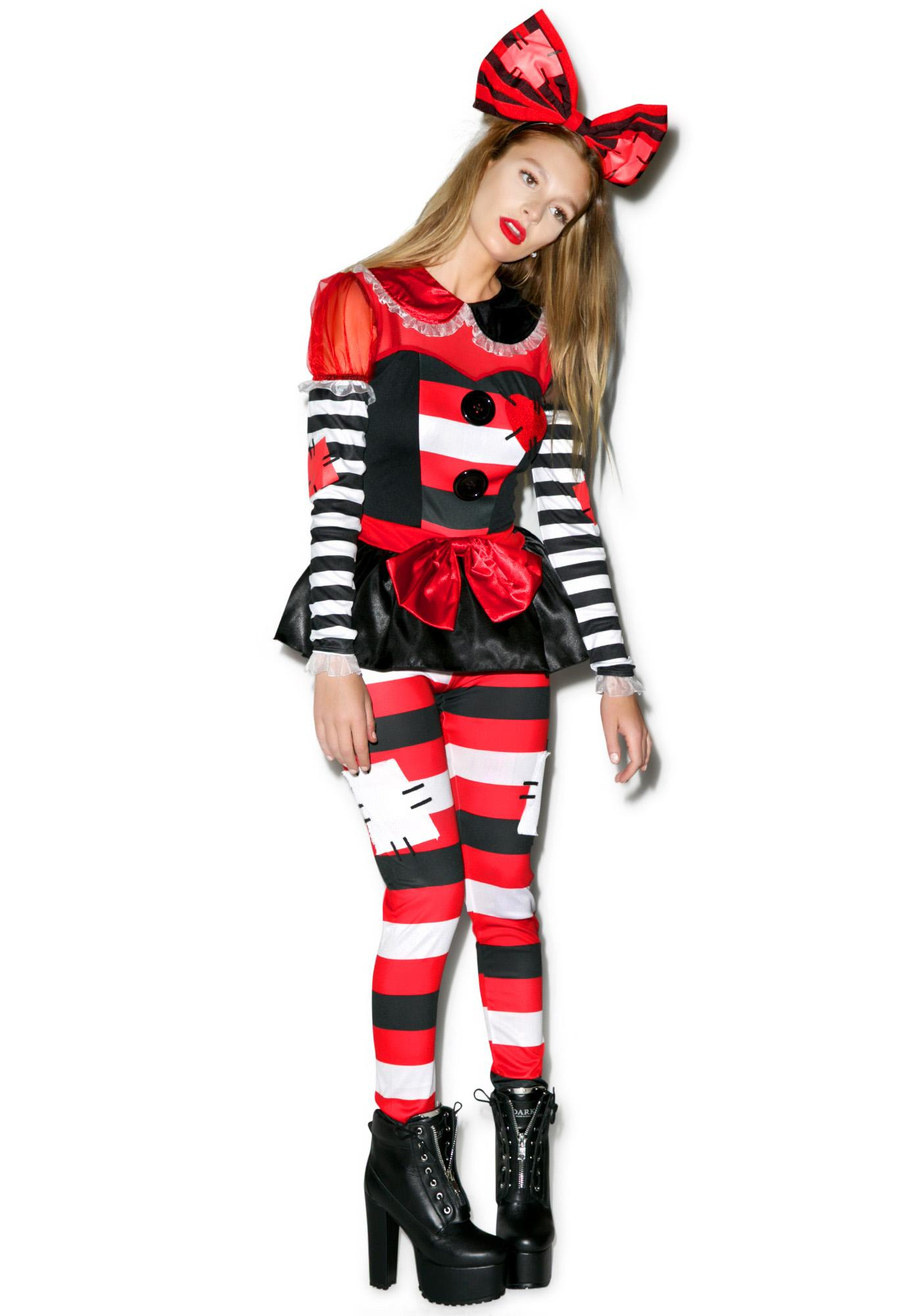 Raggedy Plaything Doll Costume