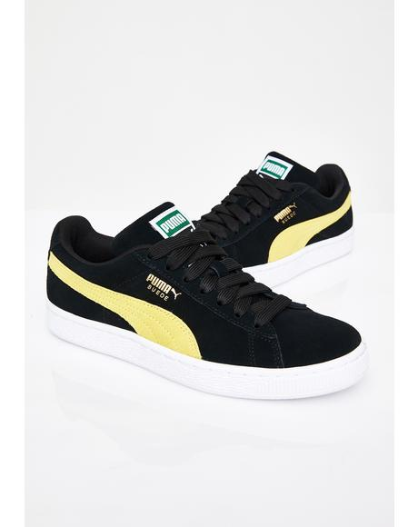 Midnight Suede Classic Sneakers