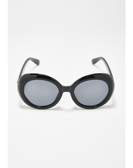 Wicked Fantasy Oversized Sunglasses