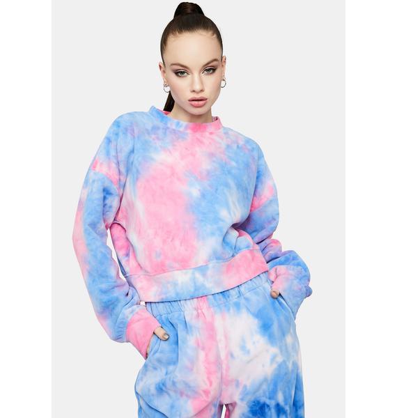 Fairy Living The Dream Tie Dye Jogger Set