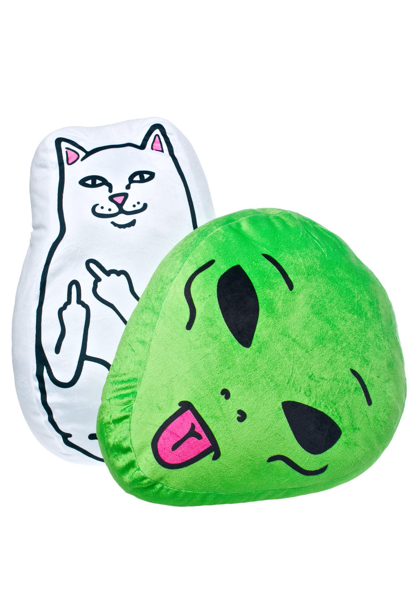RIPNDIP We Out Here Pillow