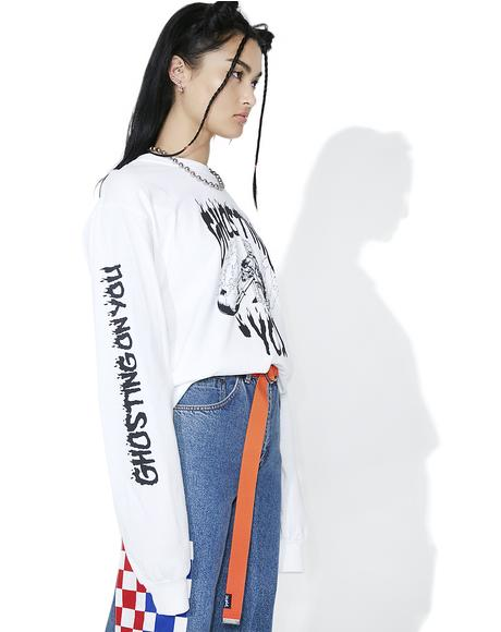 Ghosting On You Long Sleeve Tee
