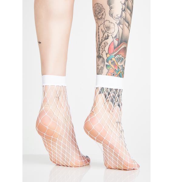 Purely Hooked On Ya Fishnet Socks