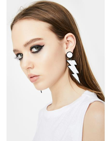 Electric Light Drop Earrings