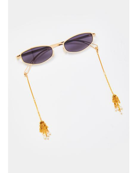 All Dat Tassel Sunglasses