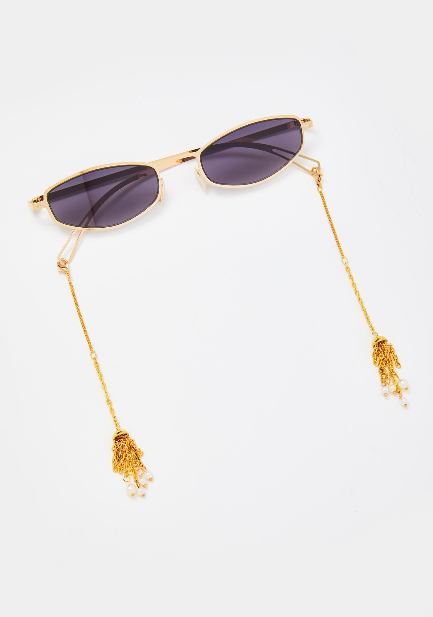 All Dat Tassel Sunglasses