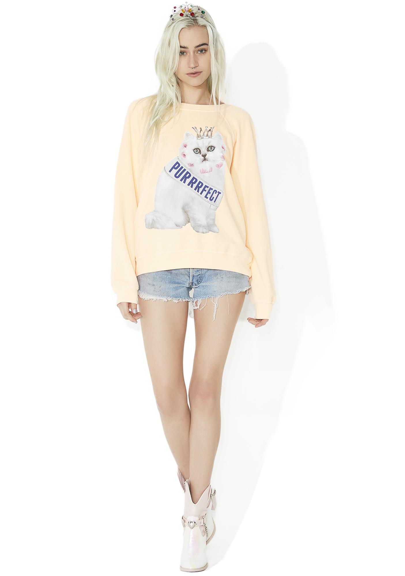 Wildfox Couture Purrfect Sommers Sweater