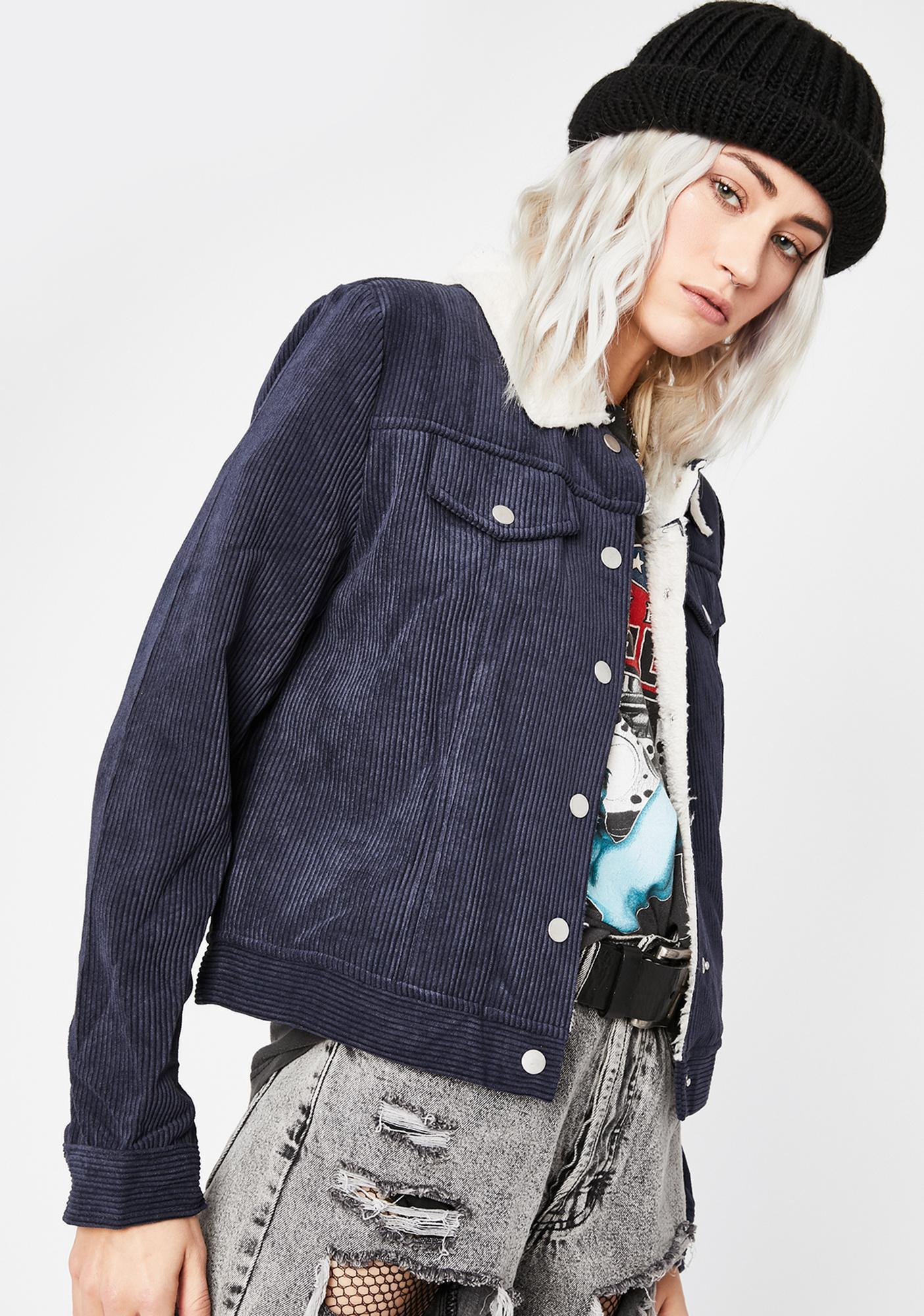 Cool N' Collected Corduroy Jacket