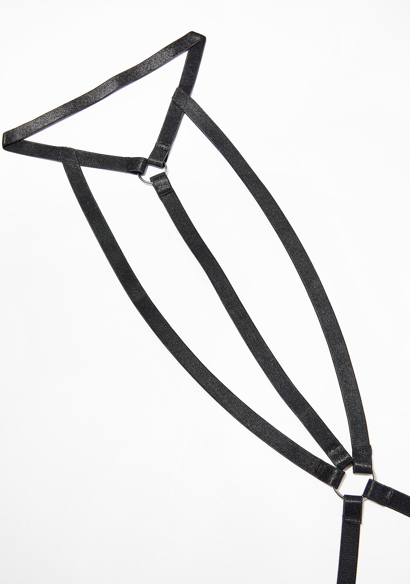 Hurts So Good Strappy Harness