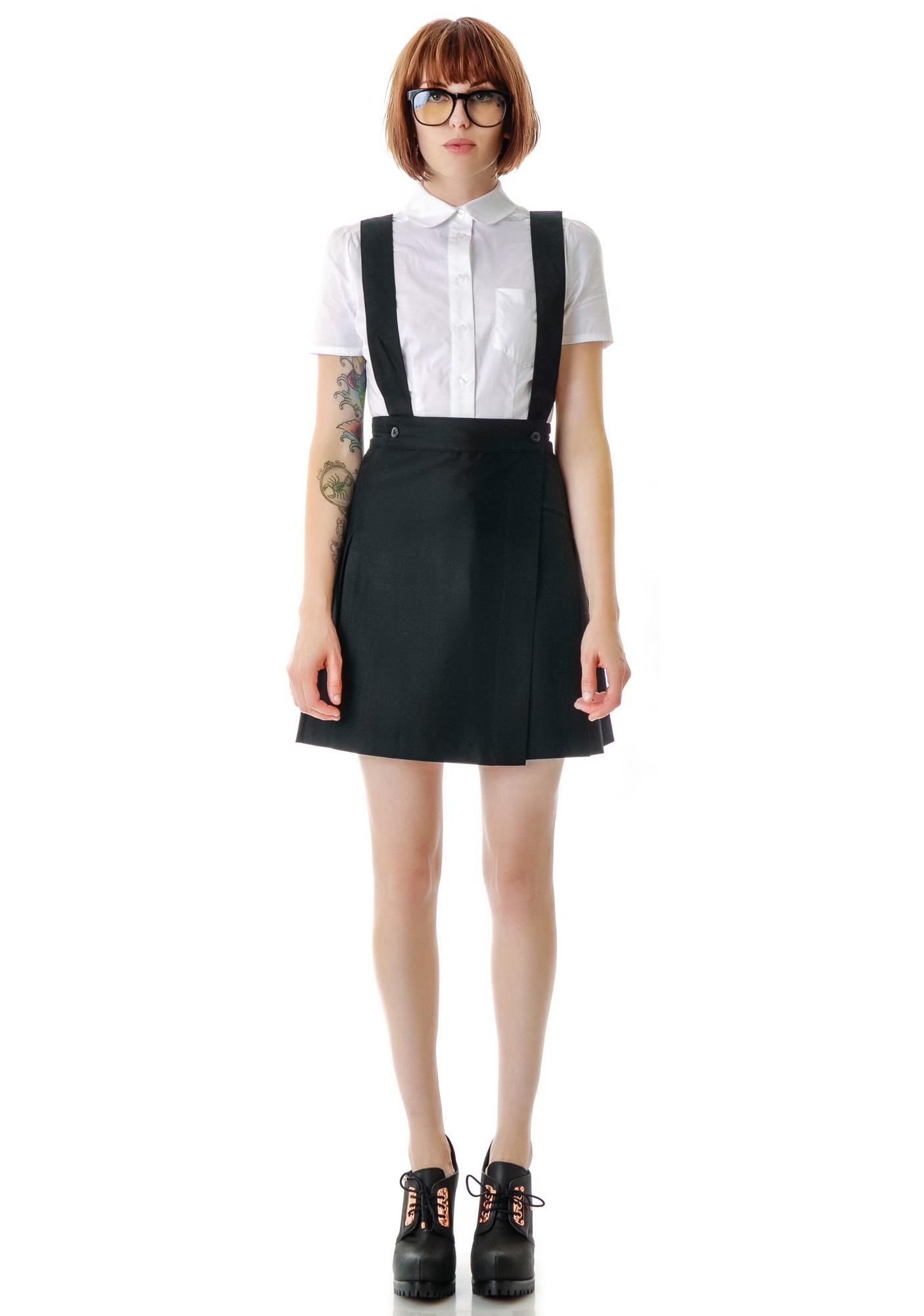 L'ecole des Femmes St.  Trinian's School Girl Pleated Skirt