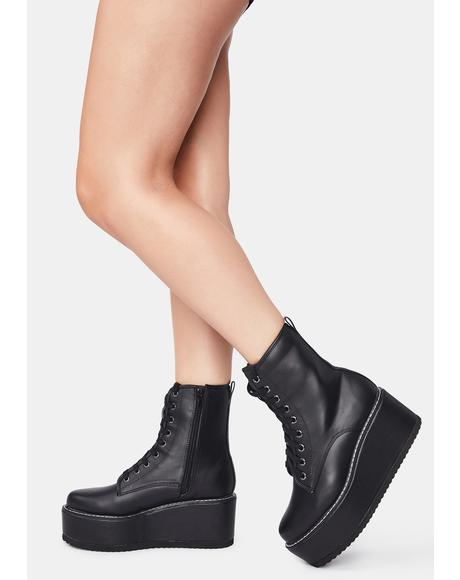 Making Choices Platform Boots