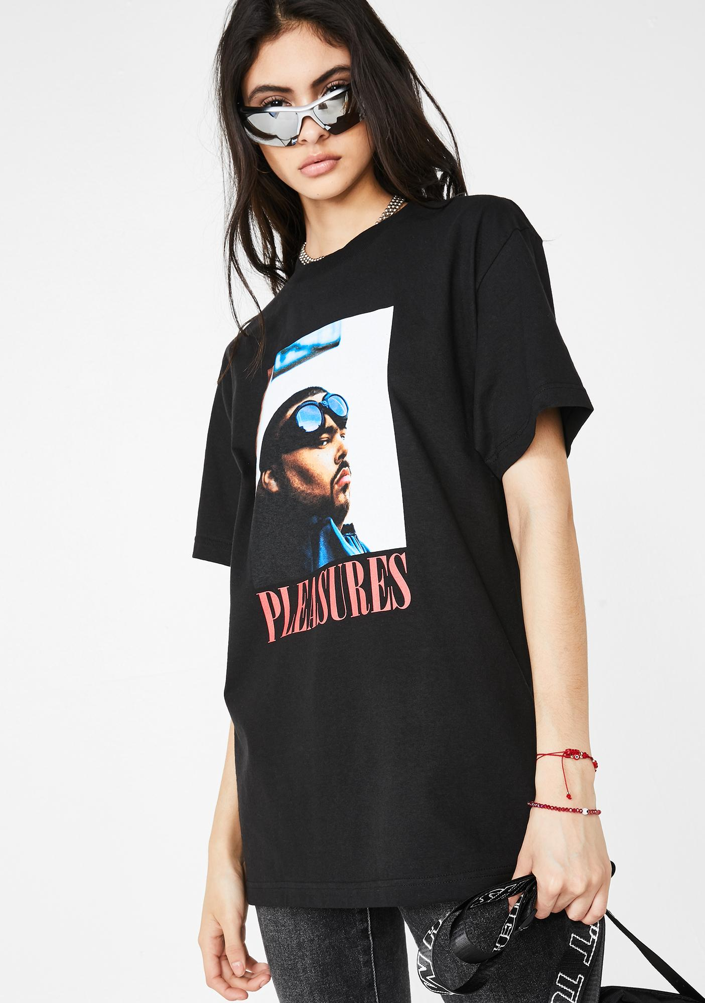 Pleasures Beware Graphic T-Shirt