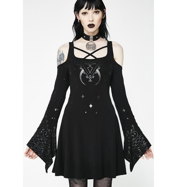 Killstar Nightshade Skater Dress