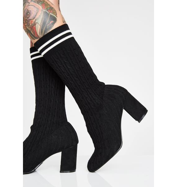 Play The Field Sock Booties