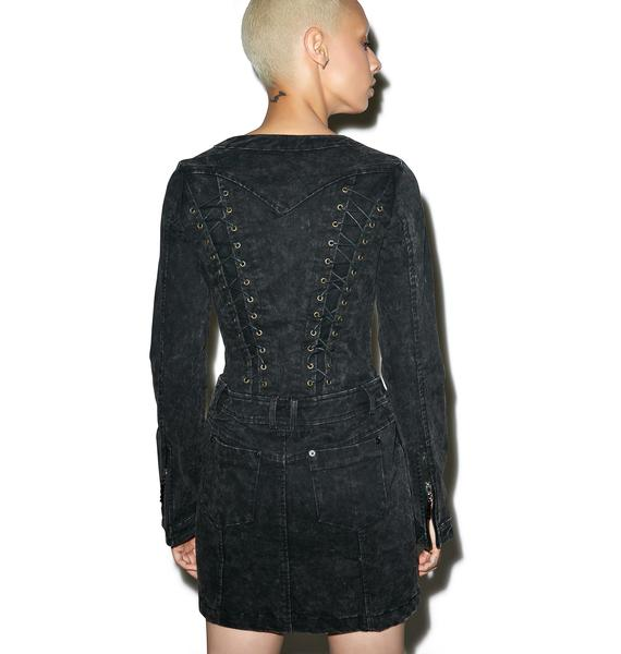 Punk Rave Fortress Mini Dress