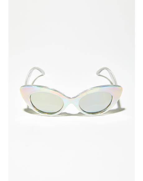 HoloGlam Cat Eye Sunglasses