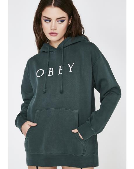 Novel Obey 2 Pullover Hoodie