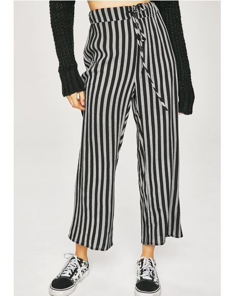 True Crime Stripe Pants