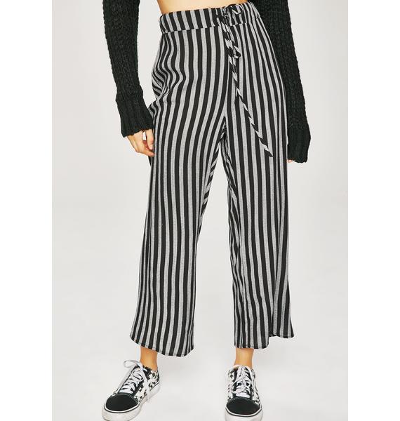 True Crime Stripe Pants