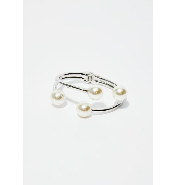 Sea Jewel Pearl Bracelet