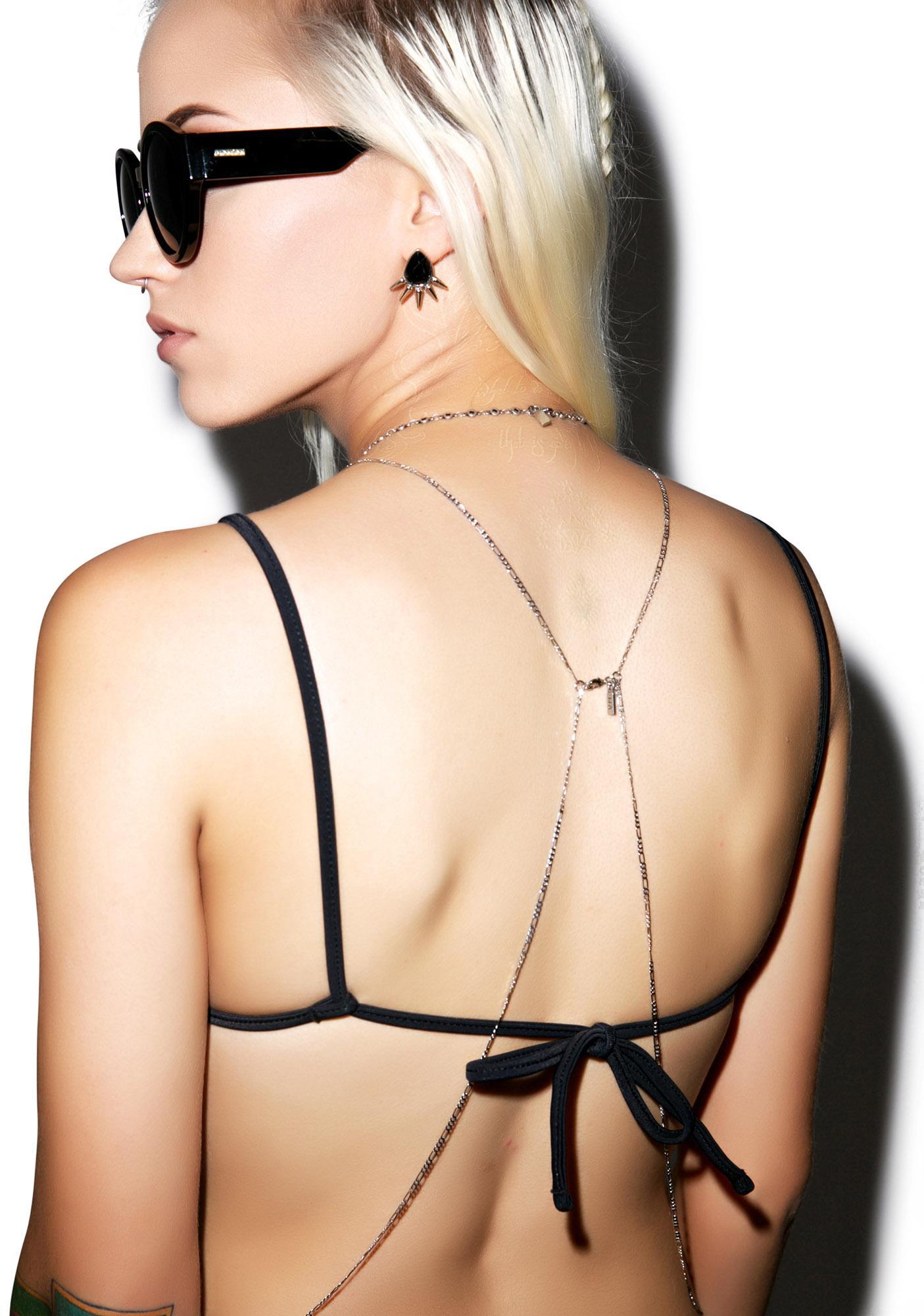 Indah Indah Mystic Cage Reversible Bikini Top