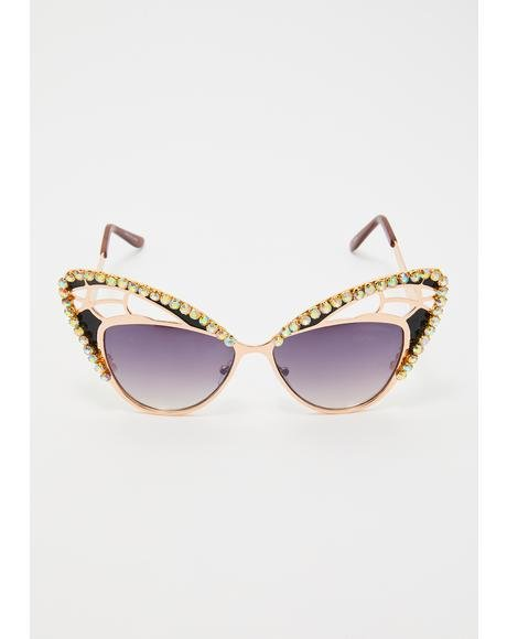 Blingin' Butterfly Sunnies
