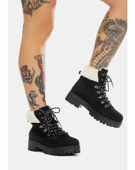 Hike Time Ankle Boots