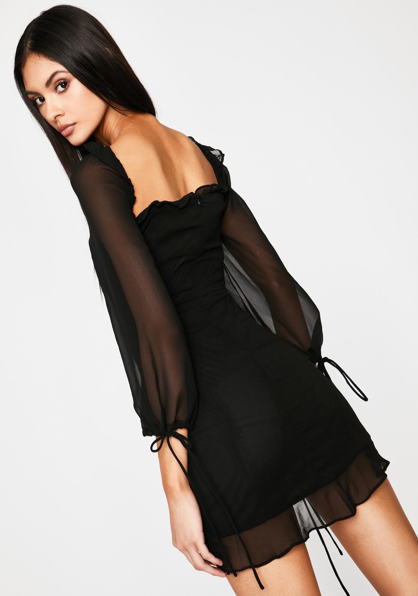 Sin Lose My Breath Mini Dress