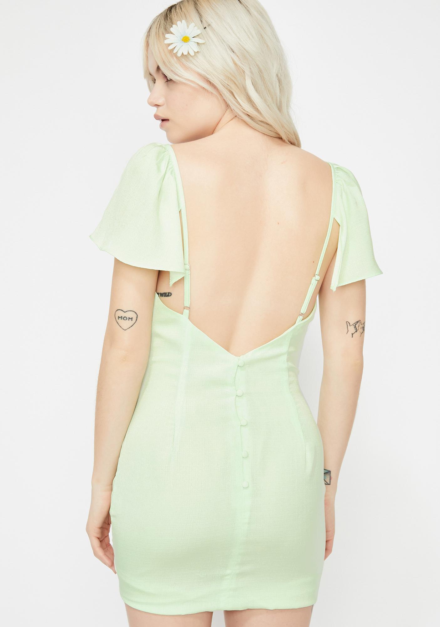 Bloom Bae Mini Dress