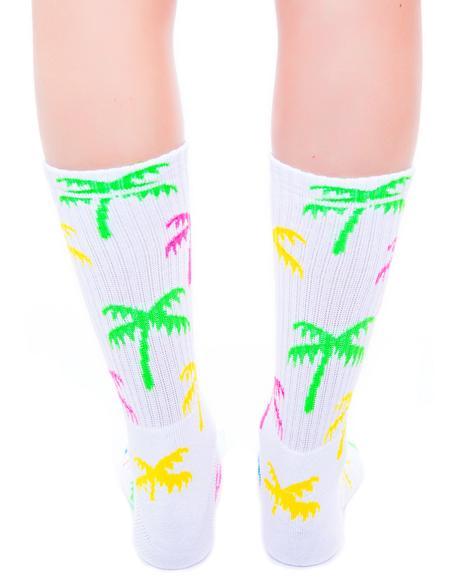 Spring Break Crew Sock
