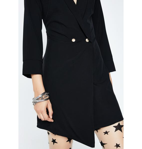 Secret Agent Mini Dress