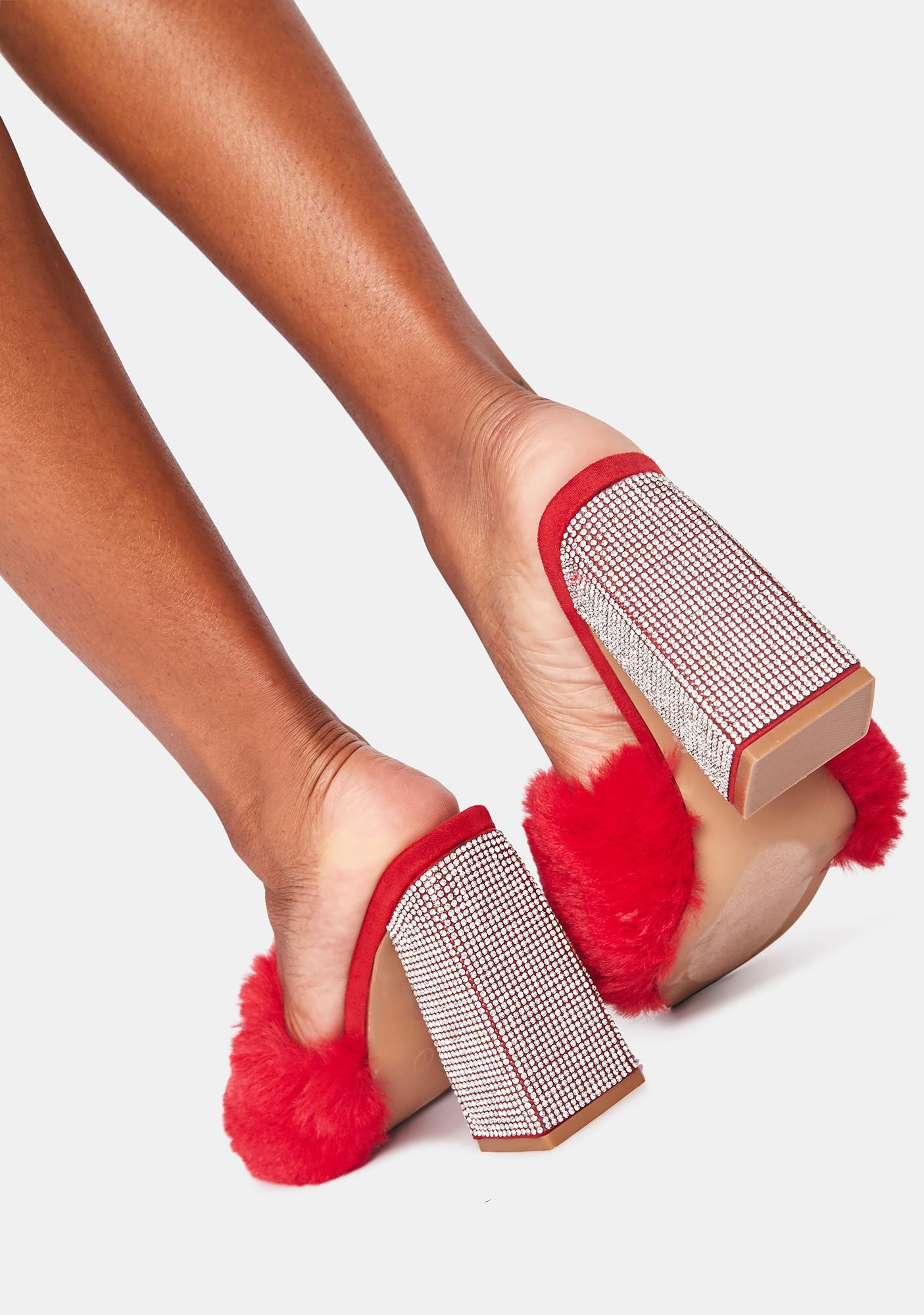 Scarlet Pretty In Bling Heels