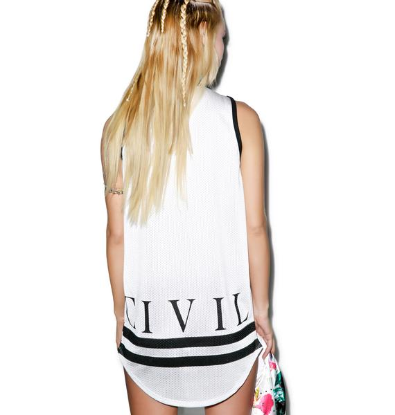 Civil Clothing 08 CTD Mesh Drop Bball Tank