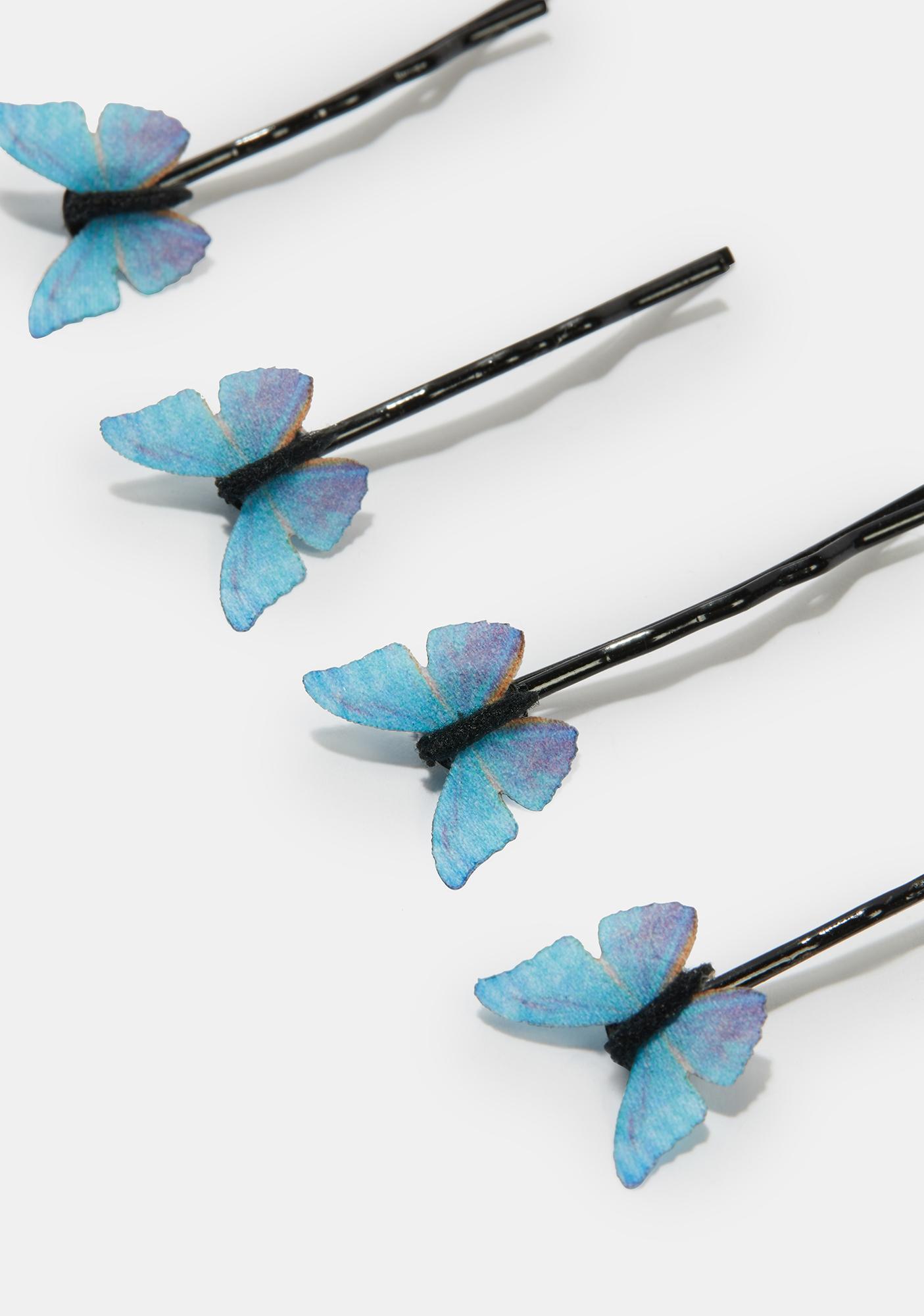 Butterfly Queen Hair Pins