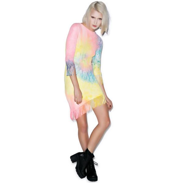 UNIF Tie Dye Stevie Dress