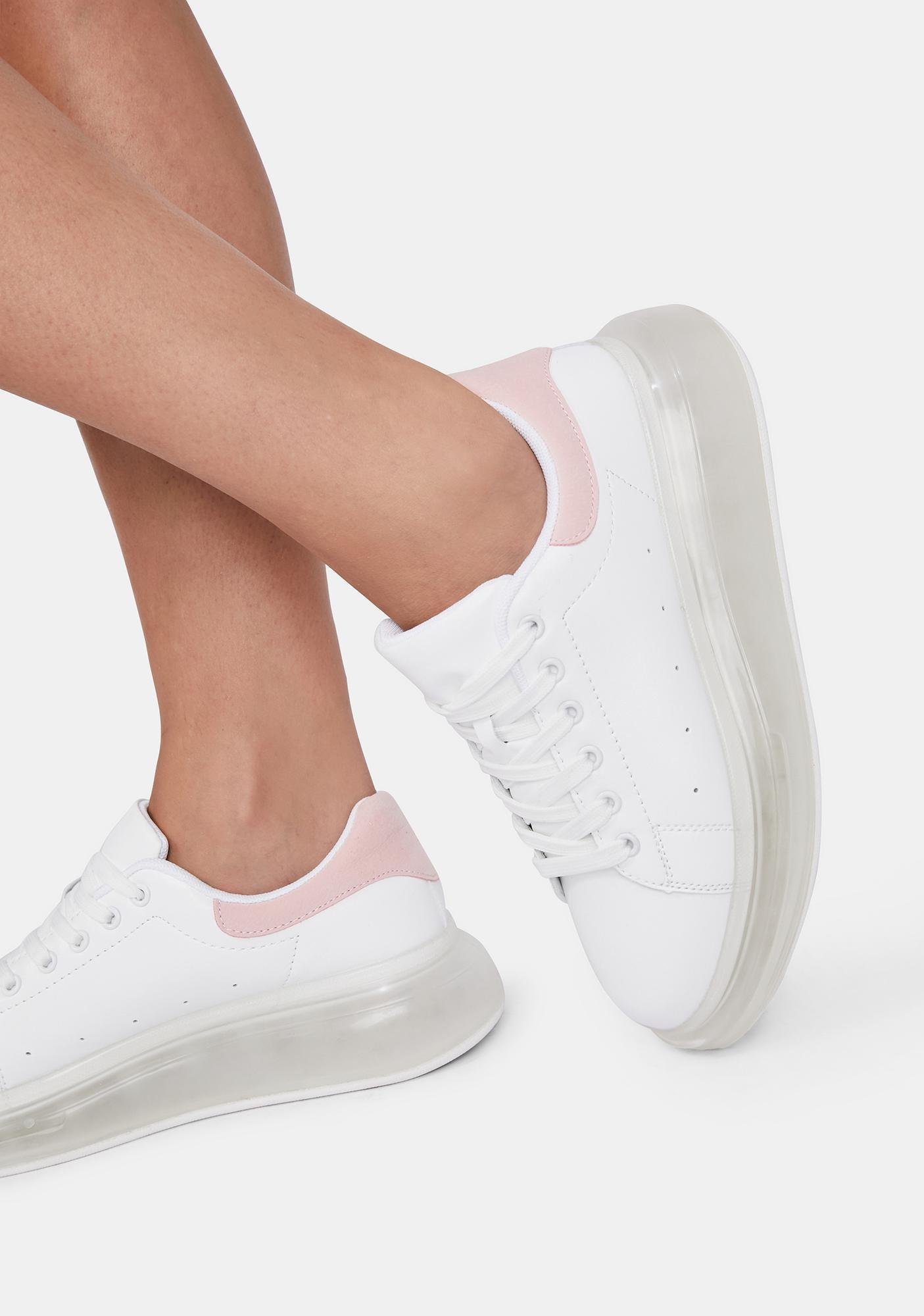 Taffy Clean Sweep Lace Up Sneakers