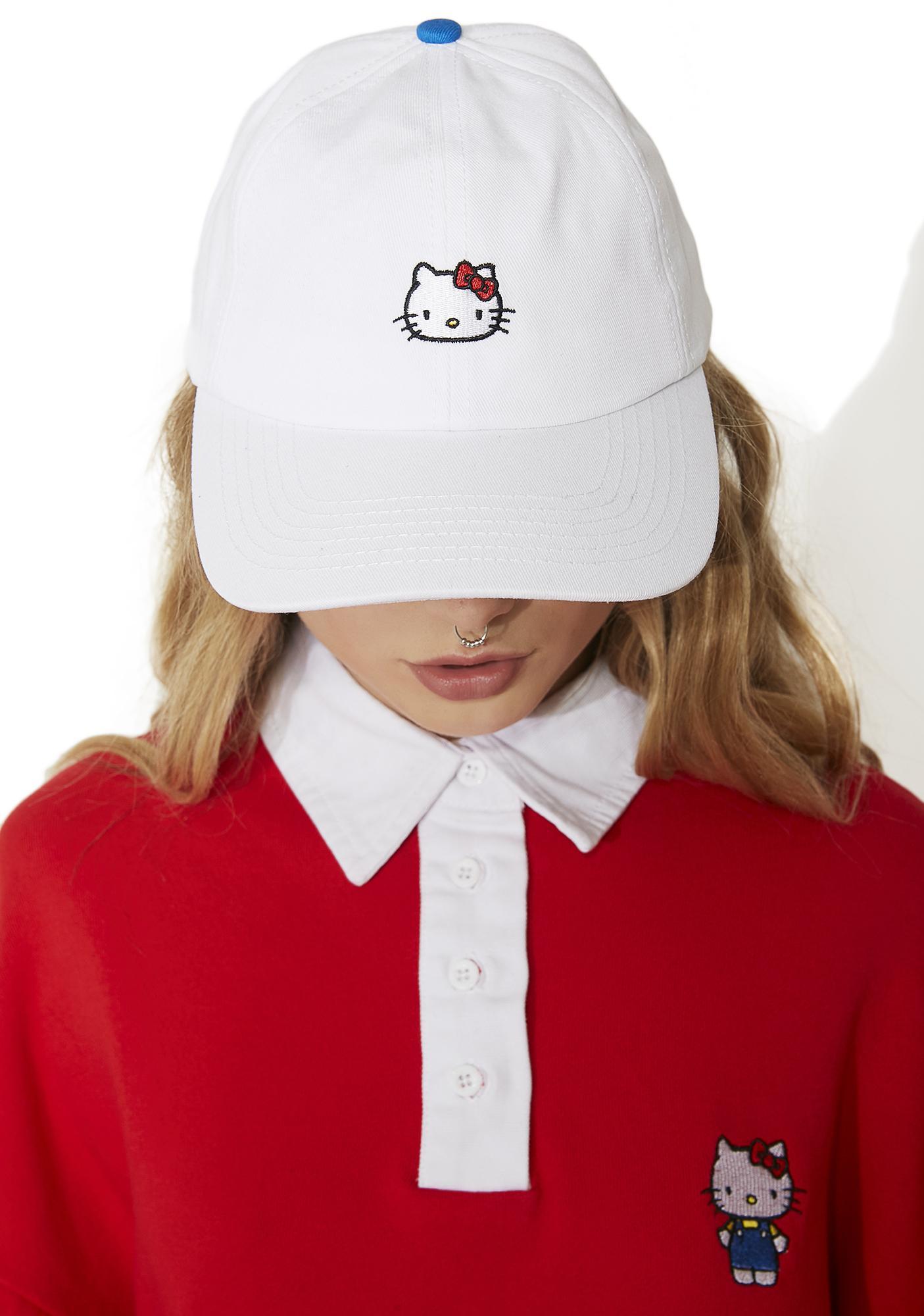 Lazy Oaf Hello Kitty Bow Tie Cap