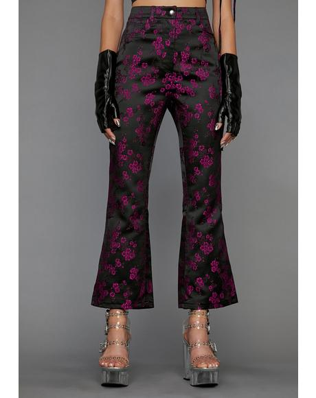 Undercover Influencer Cropped Flare Pants