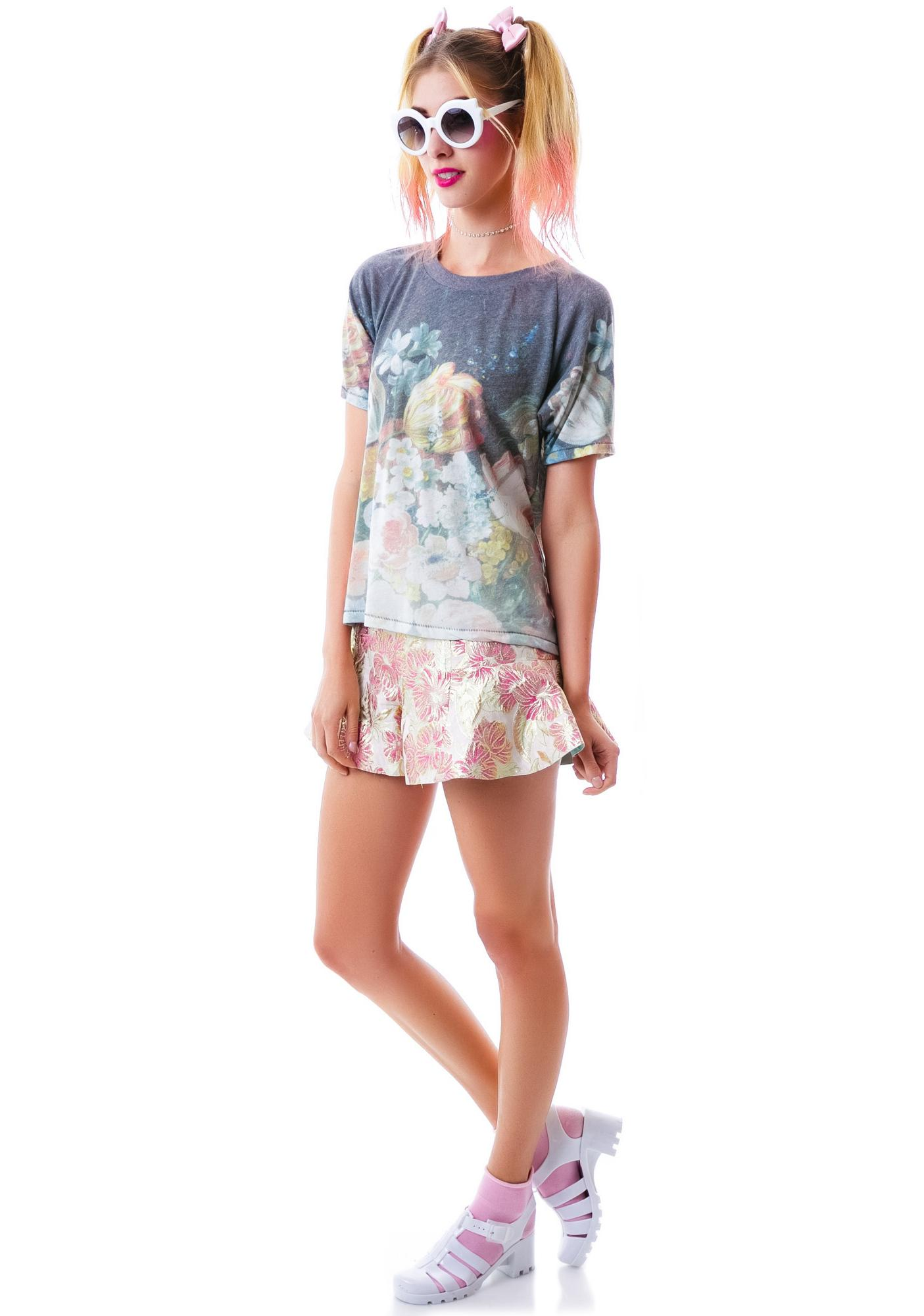 Wildfox Couture Nocturnal Banquet Perfect Tee