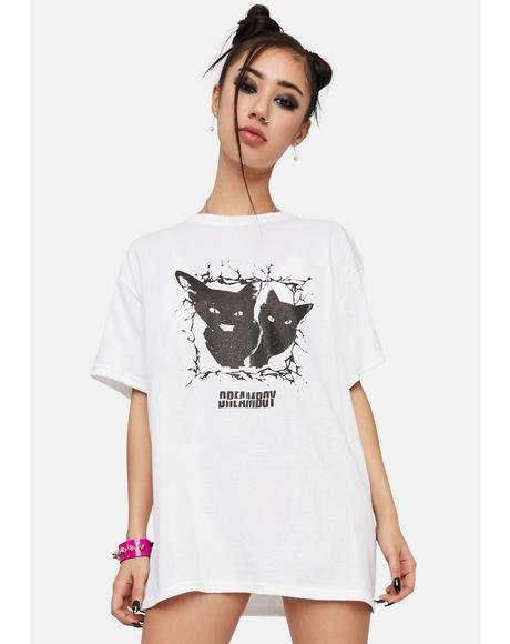 Cats Graphic Tee