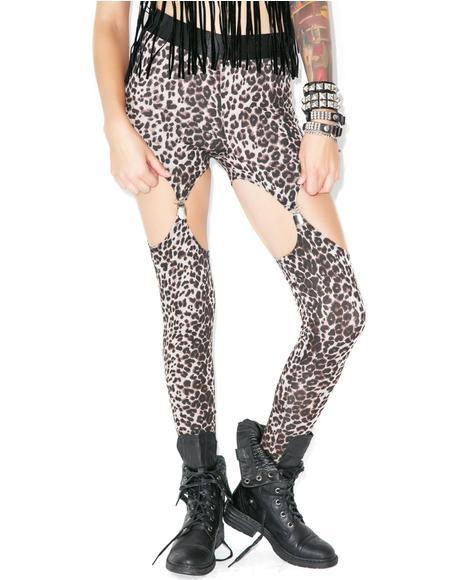 Cat Call Garter Leggings