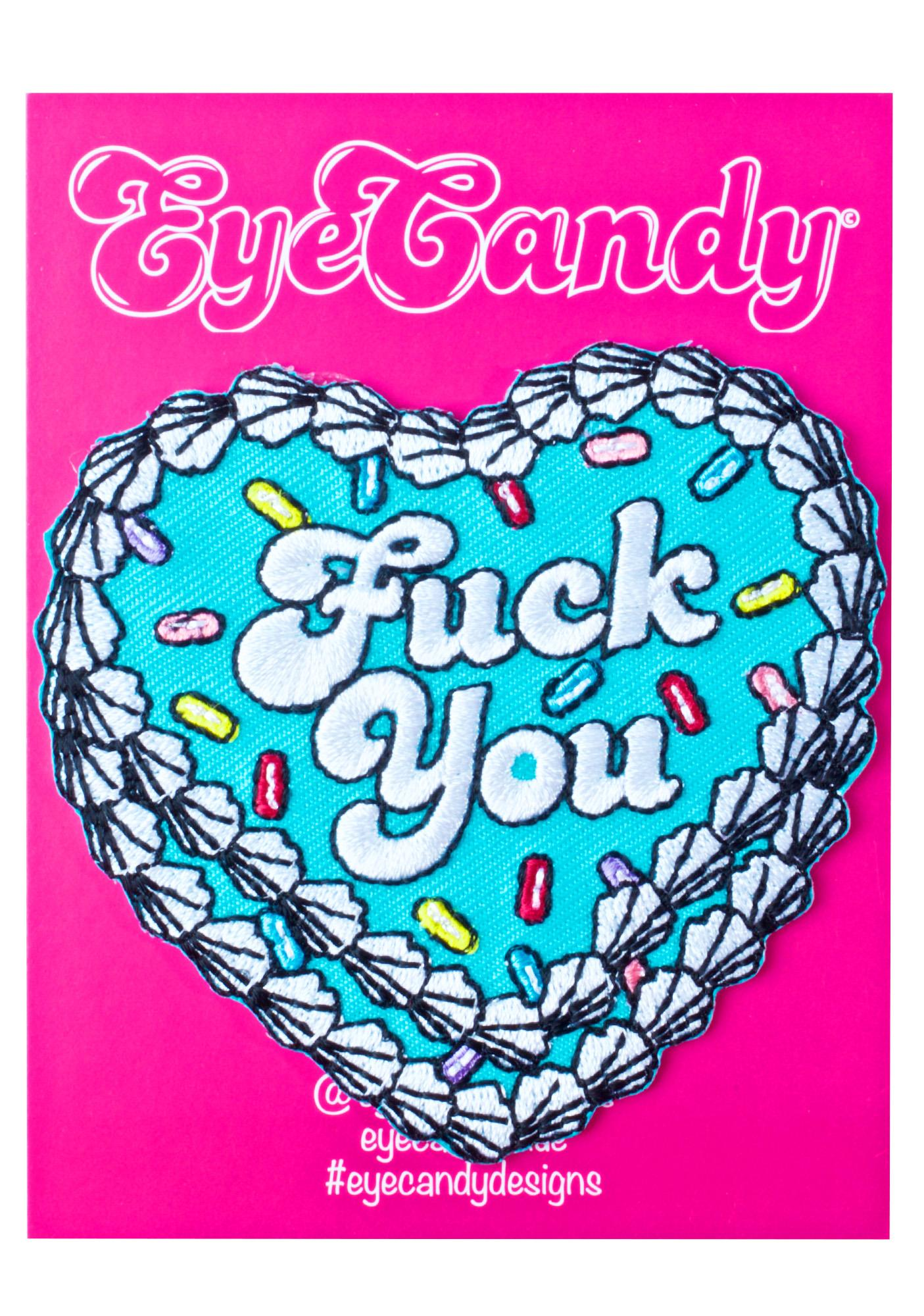 Eye Candy Designs FU Cake Patch