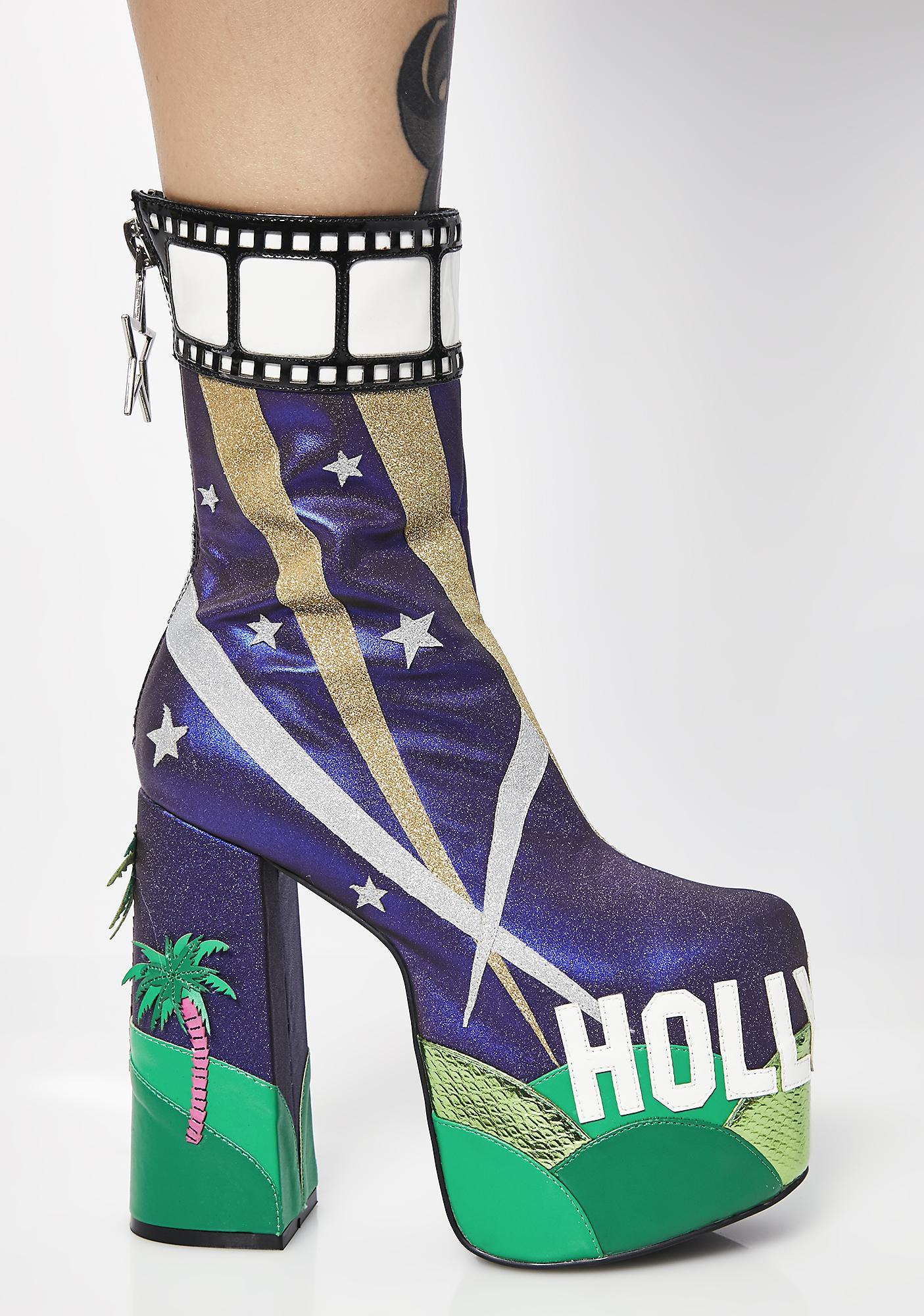 Current Mood La La Land Platform Boots